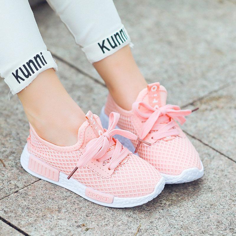 miniatura 30 - Pantofole-per-ragazzi-scarpe-sportive-scarpe-per-bambini-sneakers-per-ragazze