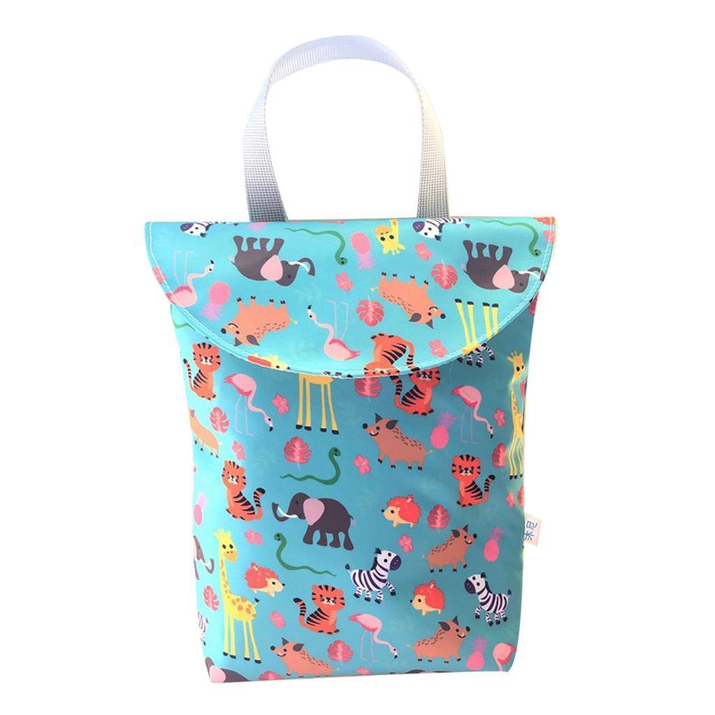 Baby-Diaper-Bag-Organizer-Fashion-Prints-Mummy-Storage-Bag-Outdoor-Reusable miniature 37