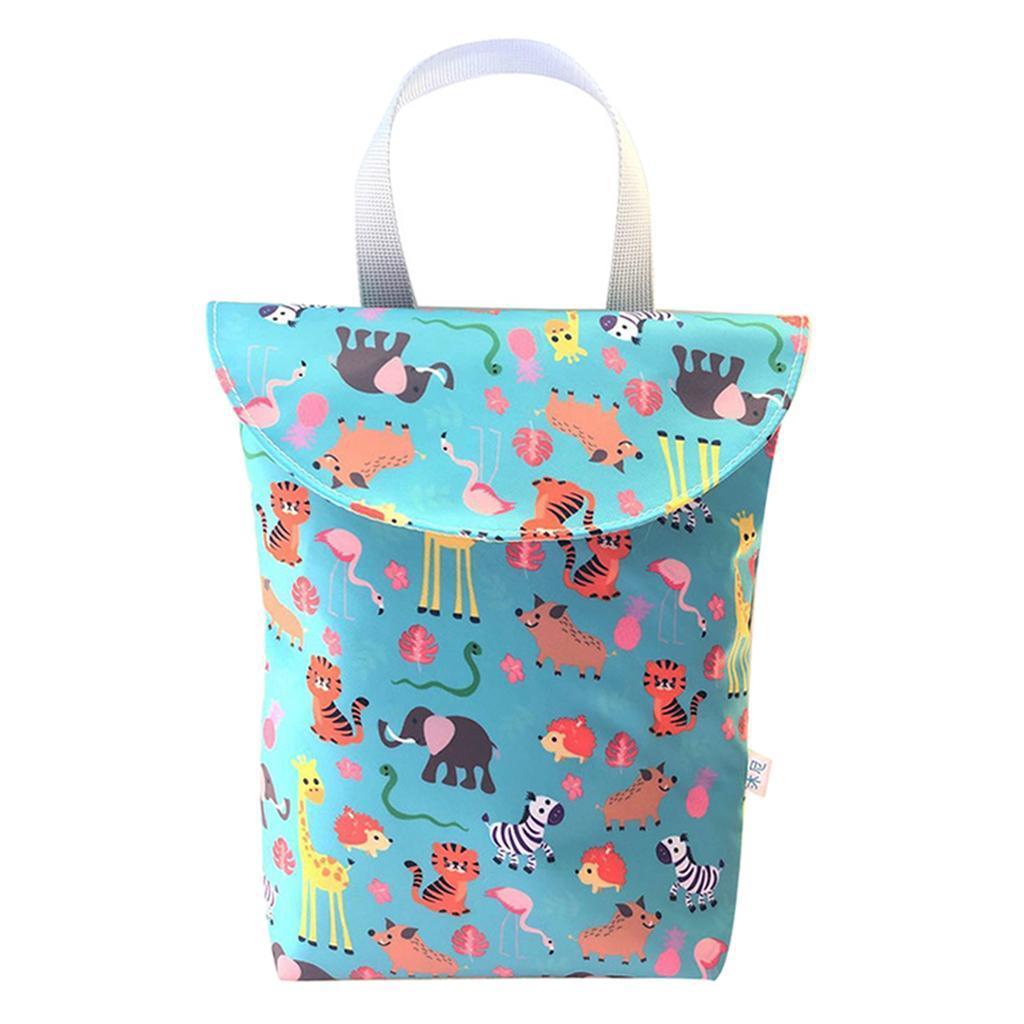 Baby-Diaper-Bag-Organizer-Fashion-Prints-Mummy-Storage-Bag-Outdoor-Reusable miniature 39