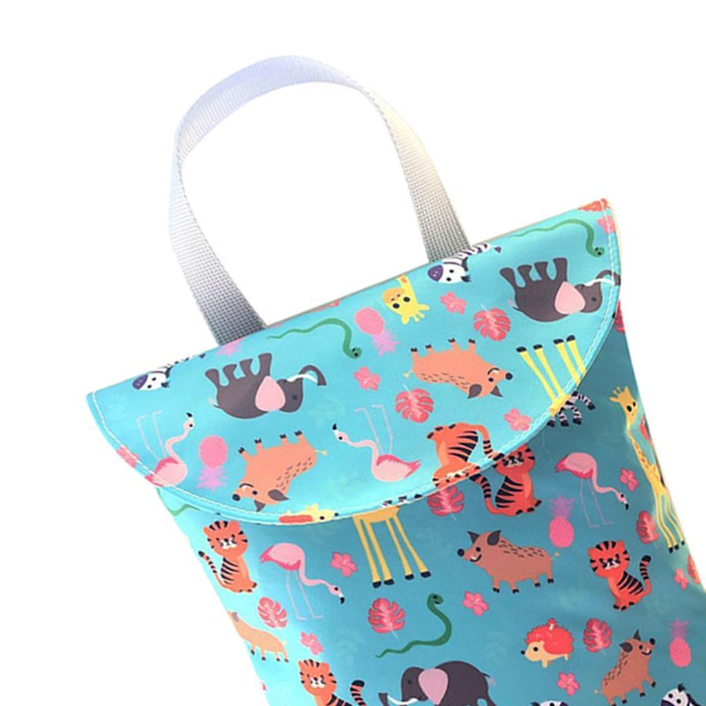 Baby-Diaper-Bag-Organizer-Fashion-Prints-Mummy-Storage-Bag-Outdoor-Reusable miniature 40