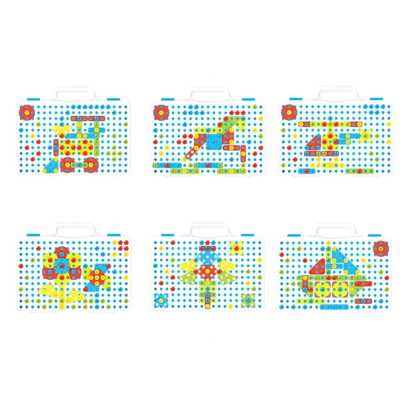 Creativo-Strumento-Educativo-Kit-FAI-DA-TE-Blocchi-di-Costruzione-Le-Capacita miniatura 5