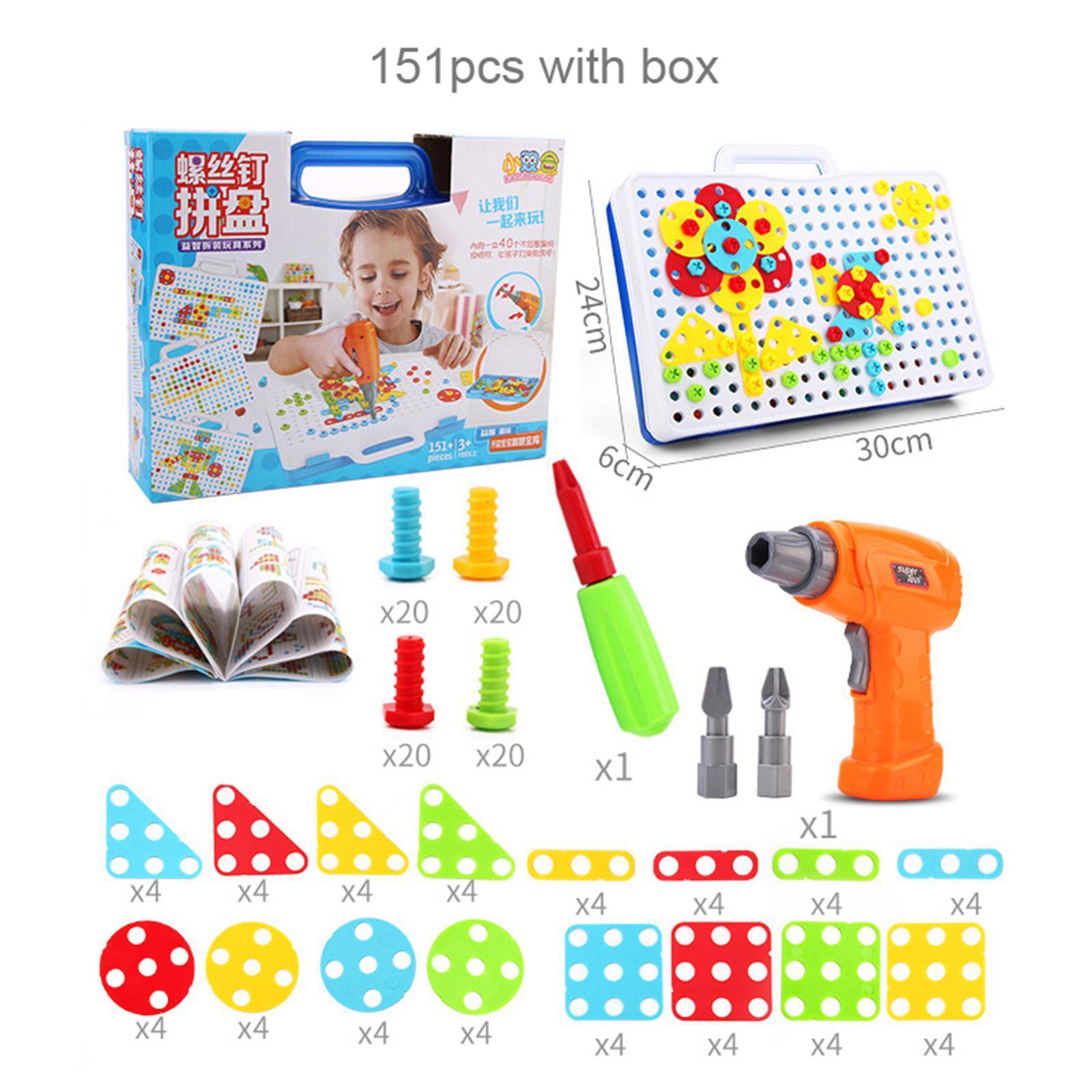 Creativo-Strumento-Educativo-Kit-FAI-DA-TE-Blocchi-di-Costruzione-Le-Capacita miniatura 3