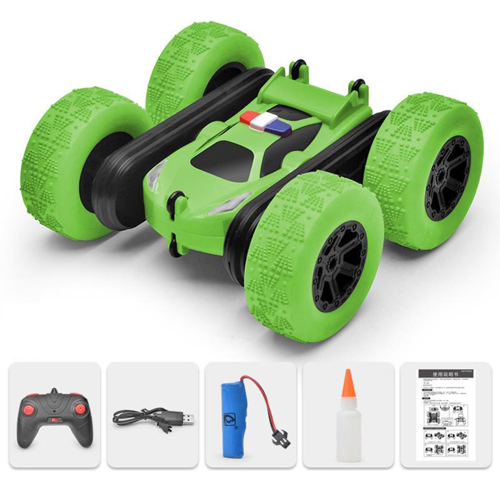 miniatura 53 - Telecomando Auto Stunt Car Giocattolo Per Bambini 2.4GHz di Controllo Remoto