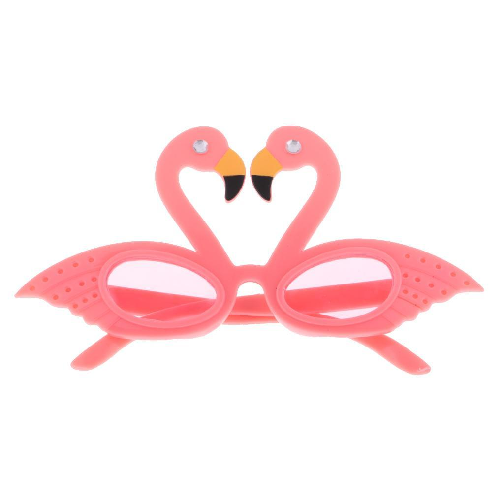 Unisex Tropical Flamingo Sunglasses Party Glasses Fancy Dress Accessory