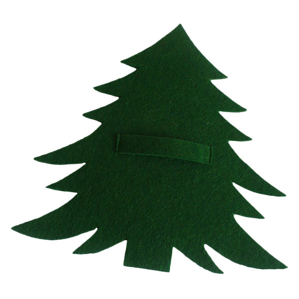 Weihnachtsbaum-Muster-Messer-Gabel-Geschirr-Tasche-Besteckbeutel-fuer Indexbild 6