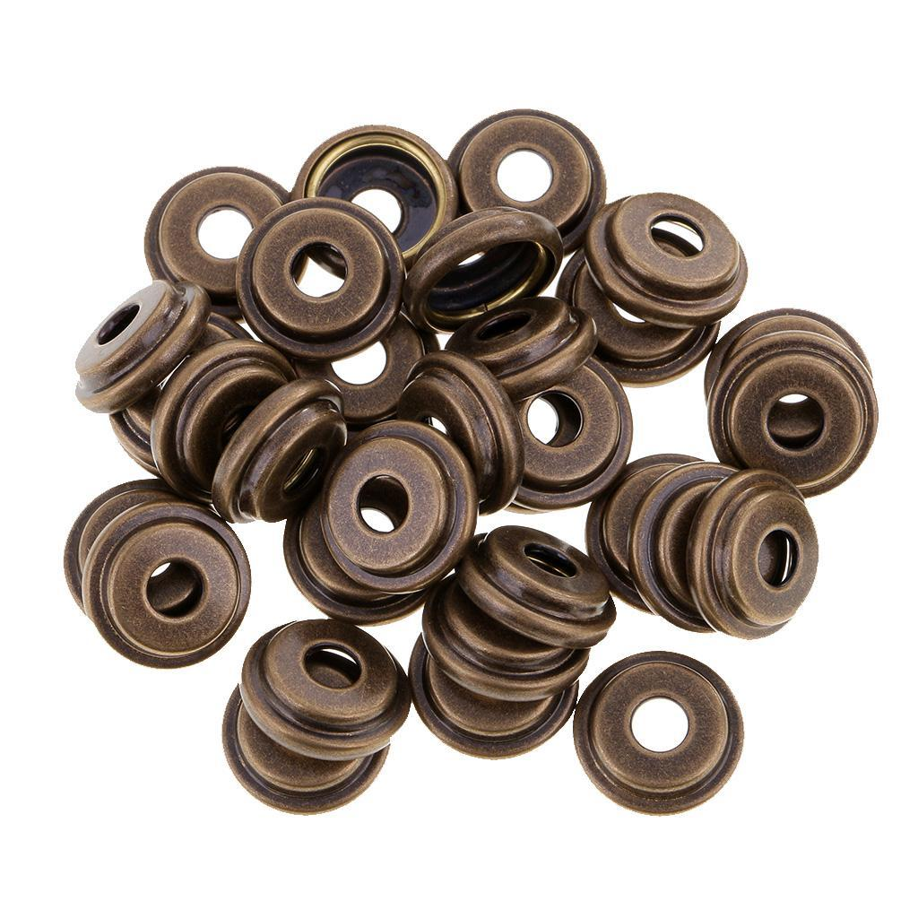 30-Sets-Vintage-Metal-Snap-Fasteners-Sewing-Button-Press-Studs-for-Leather-Craft thumbnail 20