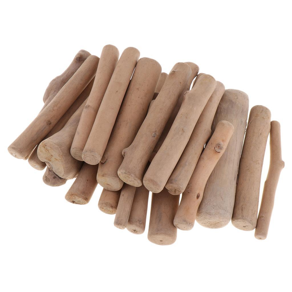 250g Verschiedene Natürliche Treibholz Stücke Holz Handwerk Kleine Sticks