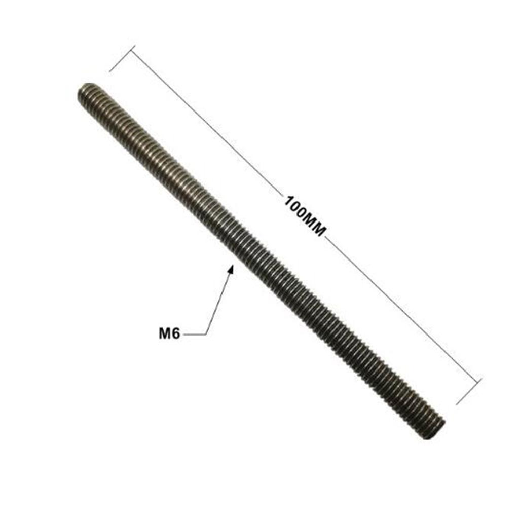 1pc-Aluminium-Threaded-Rod-Connecting-Nuts-Bar-M8-M6-100mm-Length thumbnail 10