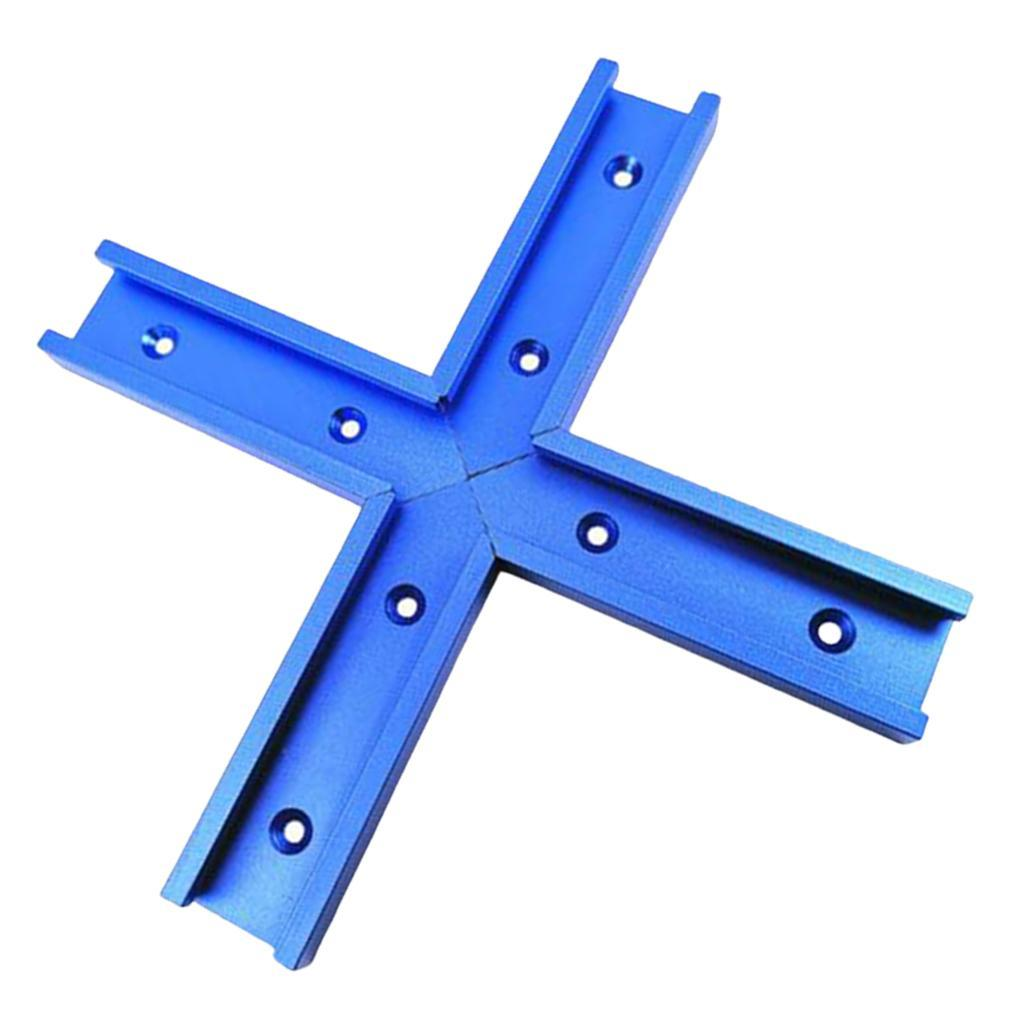 4-Sizes-T-tracks-Slot-Miter-Track-Aluminum-f-Router-Table-Woodworking-Tool thumbnail 3