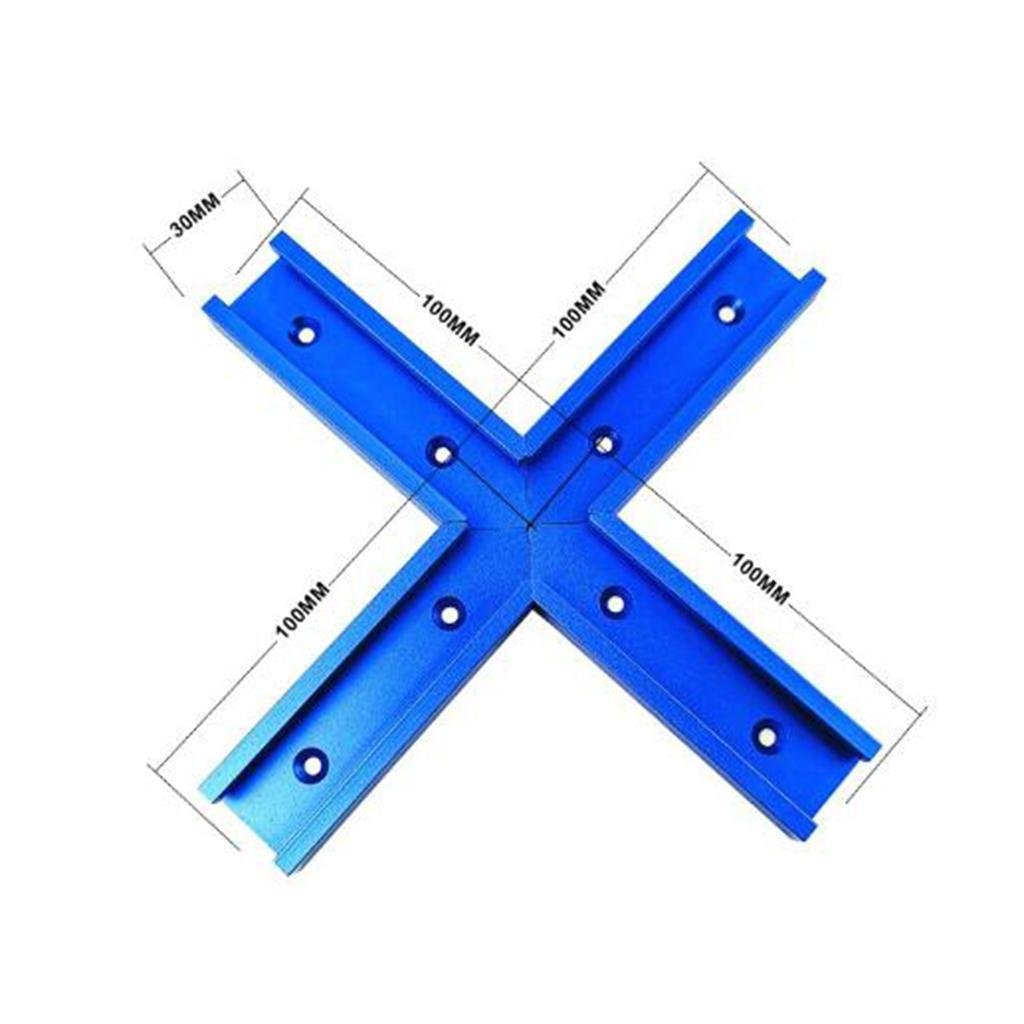 4-Sizes-T-tracks-Slot-Miter-Track-Aluminum-f-Router-Table-Woodworking-Tool thumbnail 4