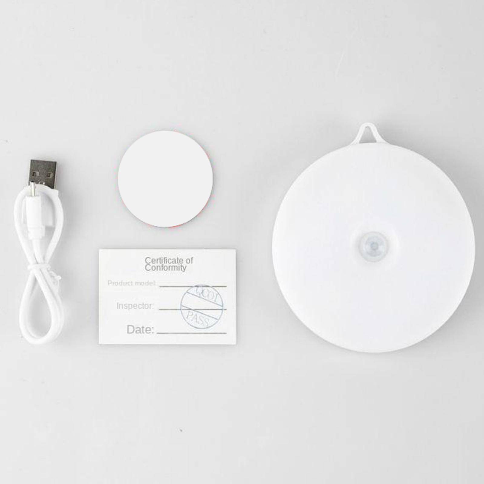 miniatura 21 - Luce notturna a LED per camera da letto ricaricabile USB per Hotel con sensore
