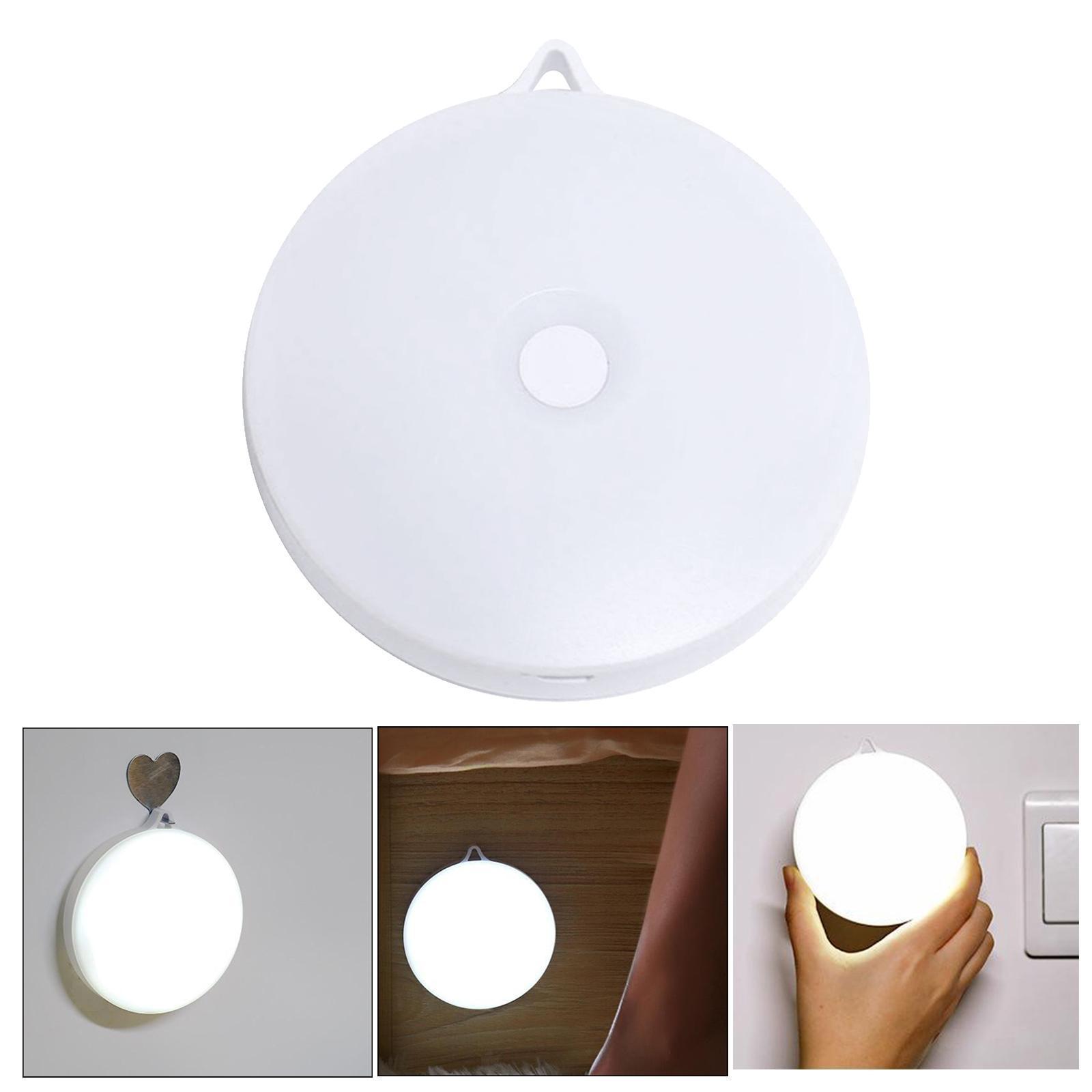 miniatura 24 - Luce notturna a LED per camera da letto ricaricabile USB per Hotel con sensore
