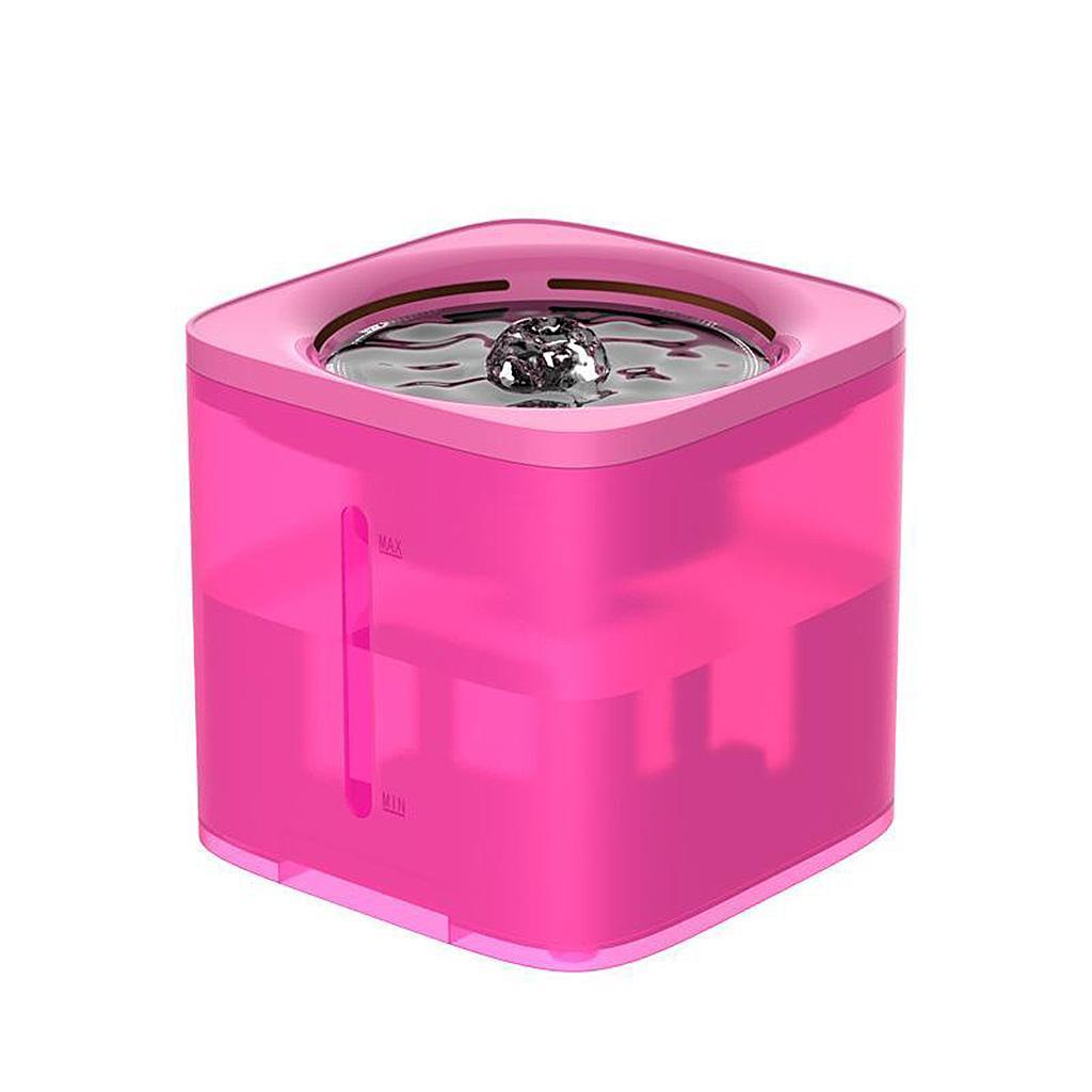 miniature 61 - 2L Chat Électrique Automatique Fontaine D'eau Potable Distributeur Bol USB