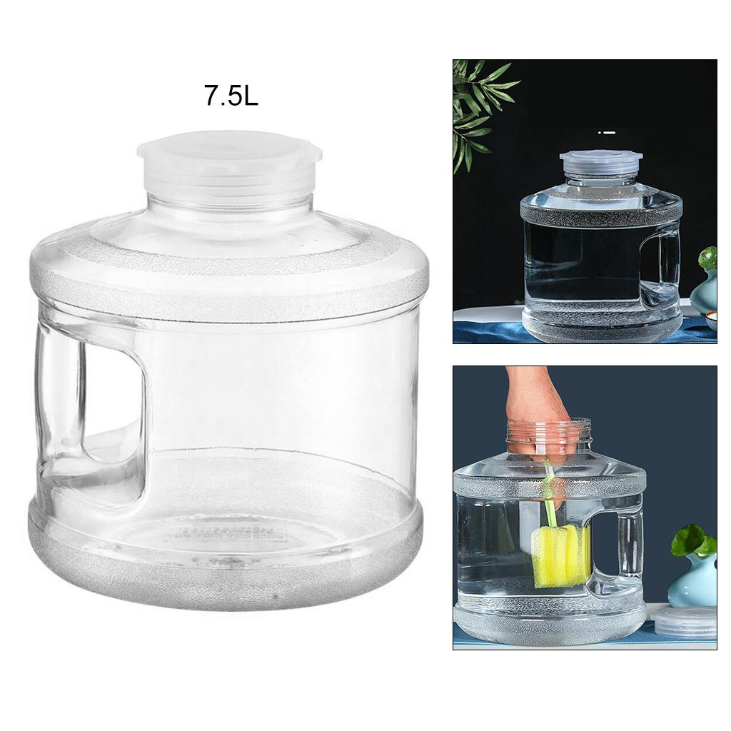 Large Water Bottle Container with Handle Big Mouth Camping Car Washing