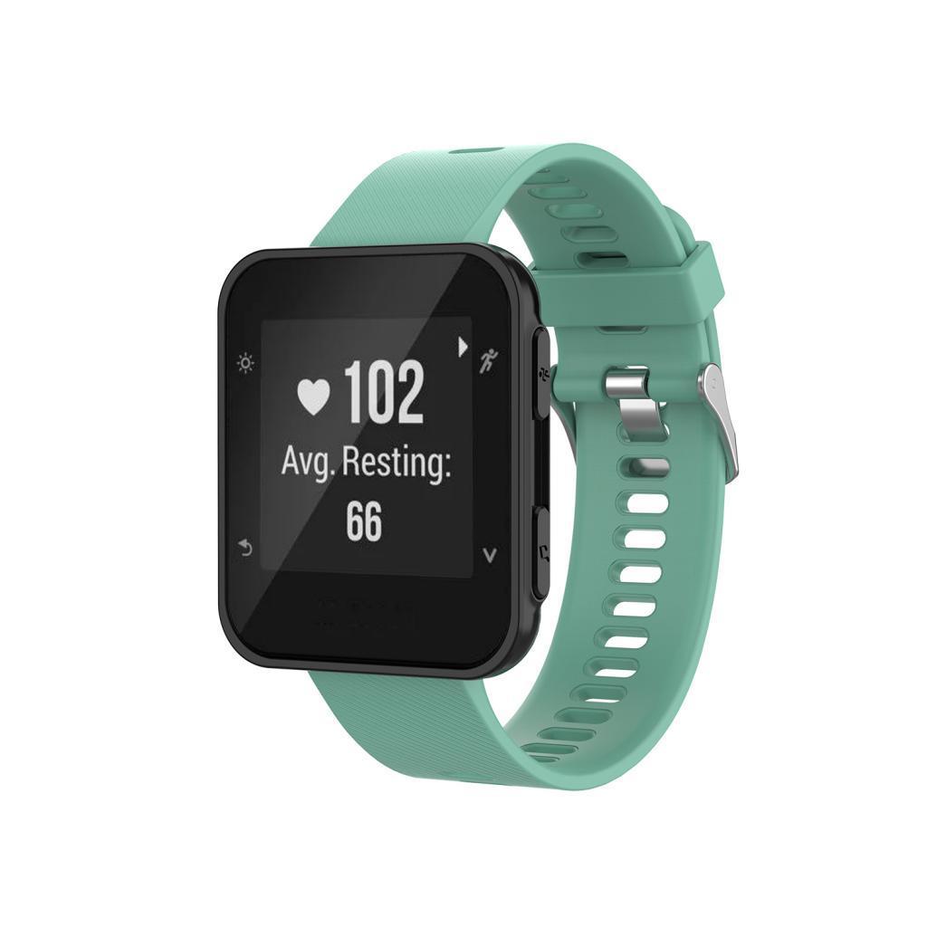 Unisex-Samrt-Watch-Strap-Bracelet-Silicone-Rubber-Band-for-Garmin-Forerunner thumbnail 27