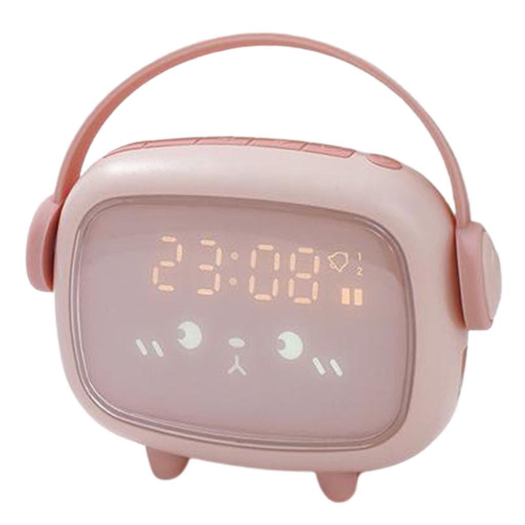 Indexbild 9 - LED Digital Kinder Wecker mit Nachtlicht für Mädchen Jungen Schlafzimmer Ok zu