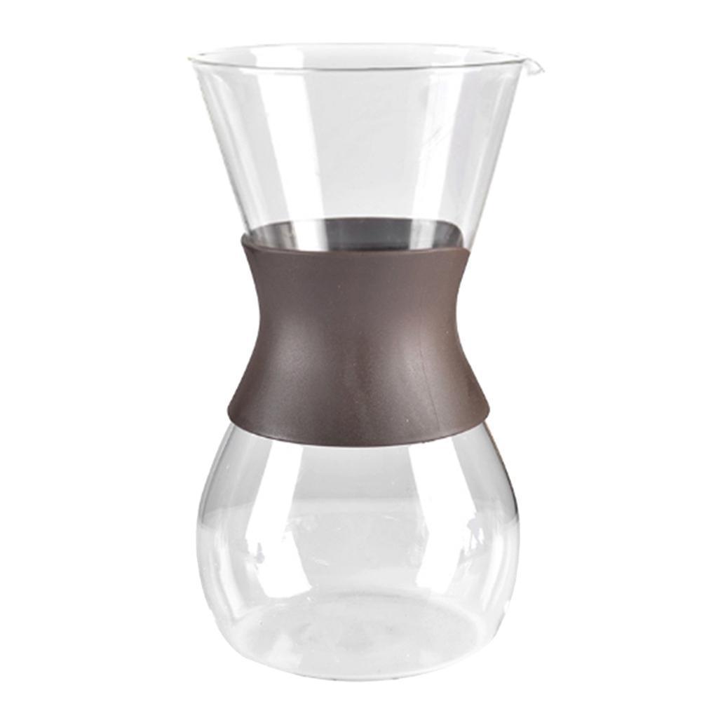 Pour Over Coffee Espresso Brewer Maker Cafetiere Carafe 27 O