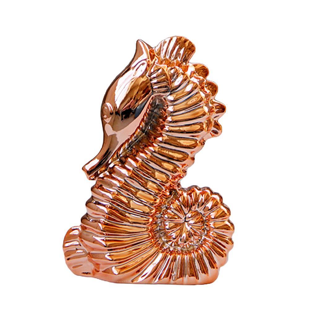 Figurine-De-Cheval-De-Mer-D-039-art-En-Ceramique-De-Style-Europeen-Pour-La miniature 8