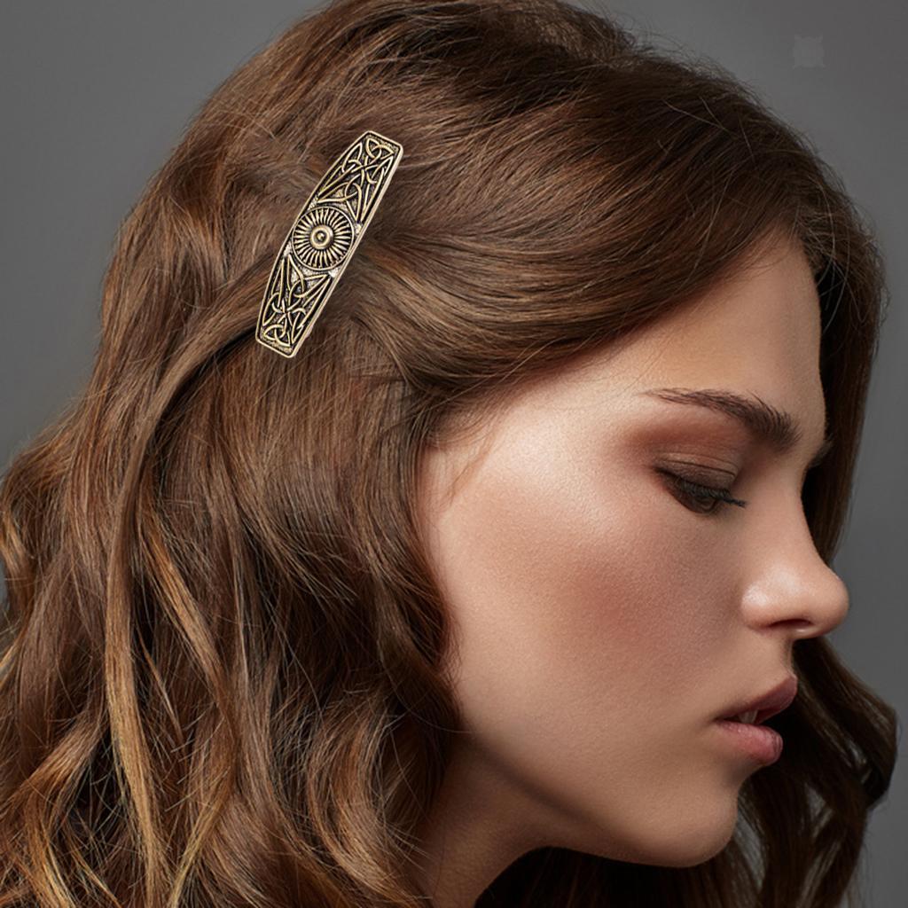 Barettes-Pince-a-Cheveux-Celtique-en-Alliage-Accessoires-de-Cheveux-Parfaite miniature 16