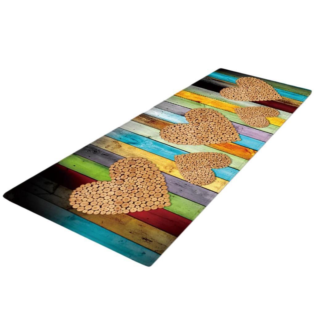 Tappetino-In-Flanella-Morbida-Antiscivolo-60x180-Cm-40x120-cm-Decorazione miniatura 7
