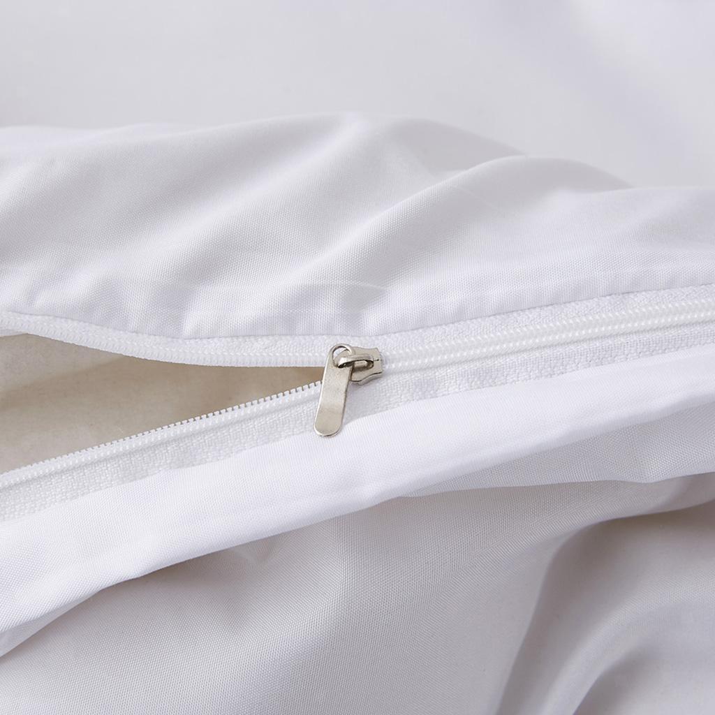 Indexbild 6 - 4 Stück / Set Einfarbige Bettdecke Weiche Bettwäsche Set Für Schlafzimmer
