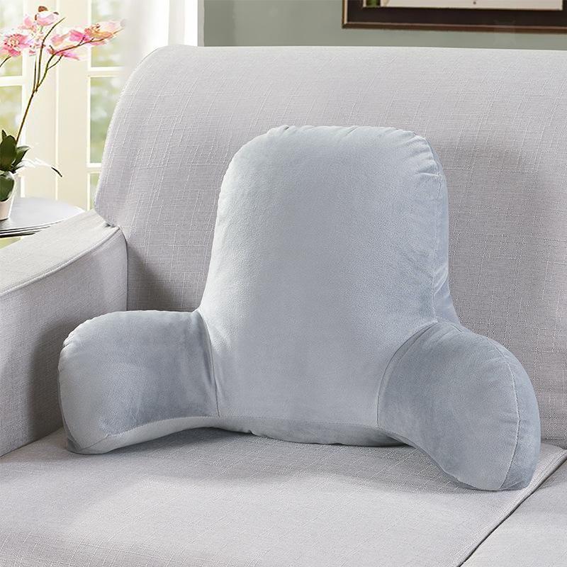 miniatura 22 - Schienale grande in peluche Cuscino per la lettura Cuscino Supporto lombare