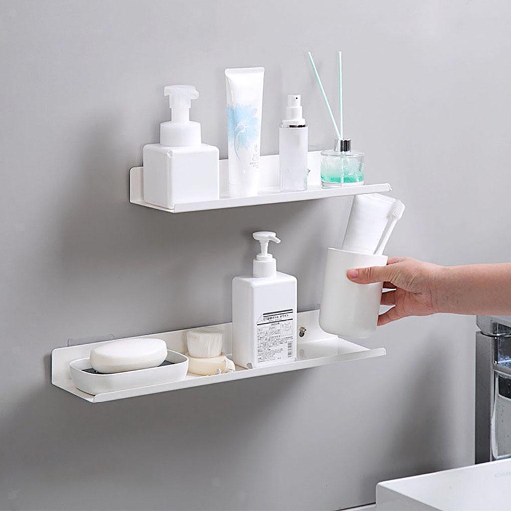 miniatura 57 - Galleggiante A Parete Mensola Rack per la Casa Organizzatore Cucina Bagno