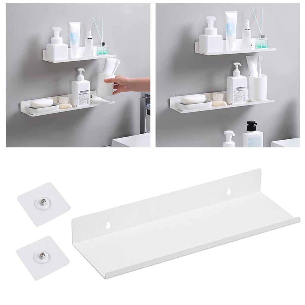 miniatura 49 - Durevole In Acciaio Al Carbonio Mensola Mobile Rack per la Casa