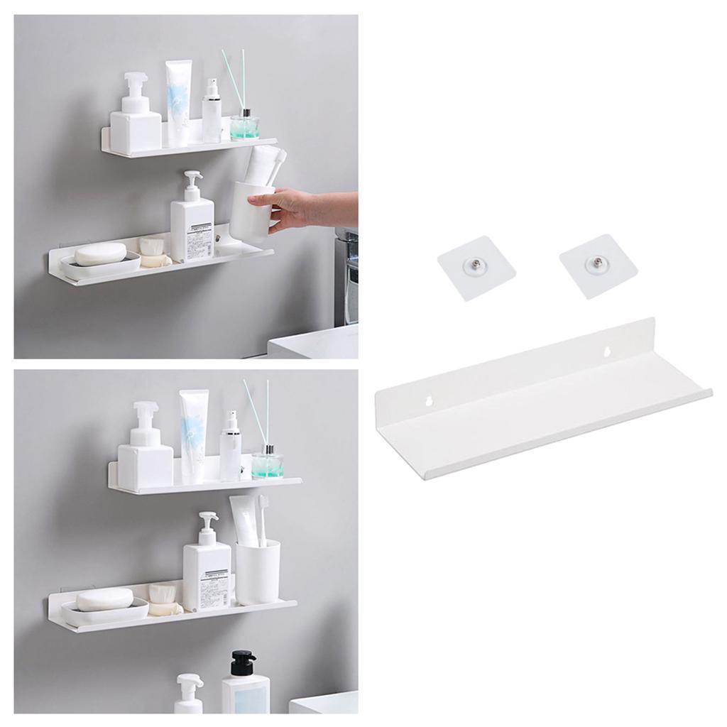 miniatura 48 - Durevole In Acciaio Al Carbonio Mensola Mobile Rack per la Casa