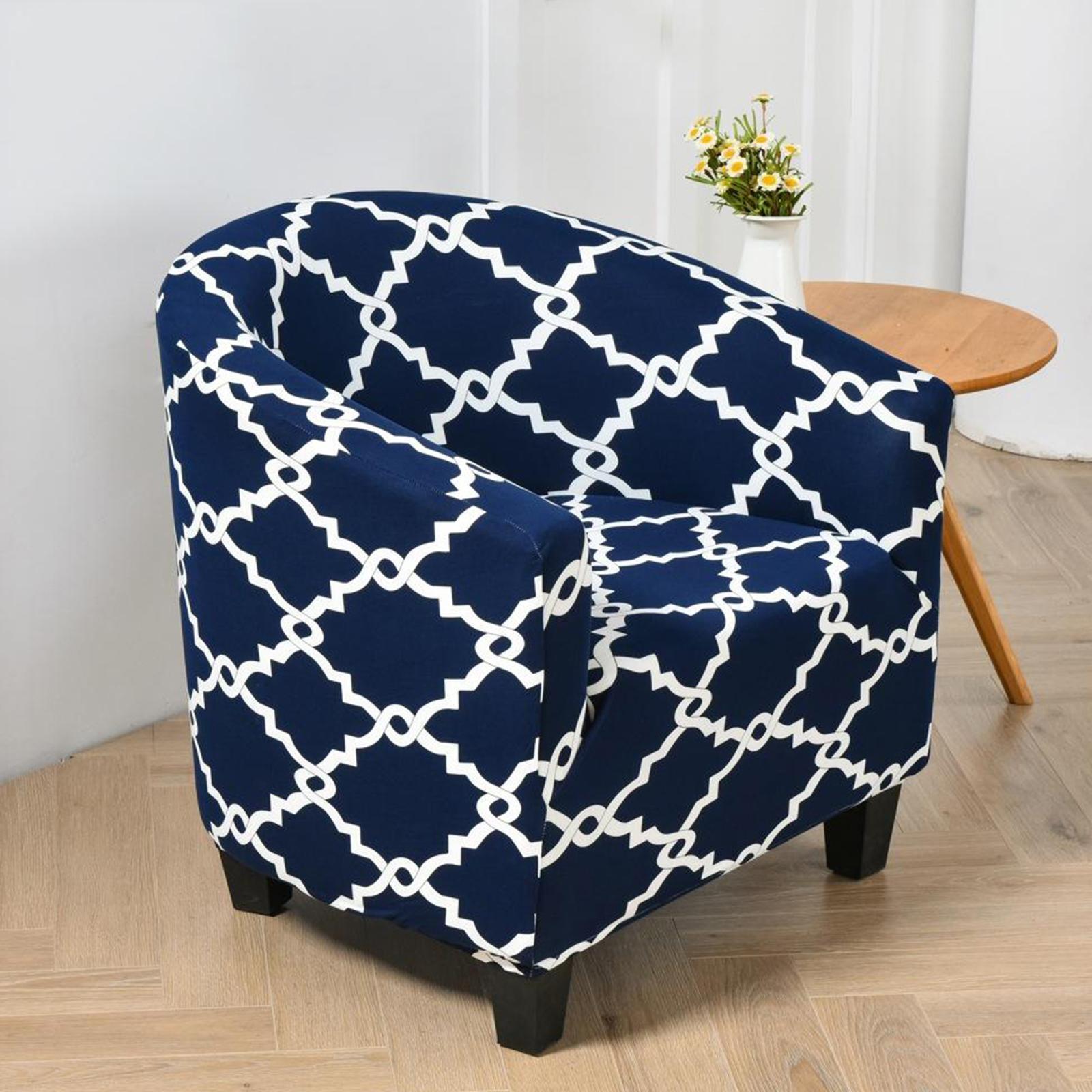 miniatura 9 - Fodera per poltrona singola per poltrona Fodera per sedia in colori assortiti