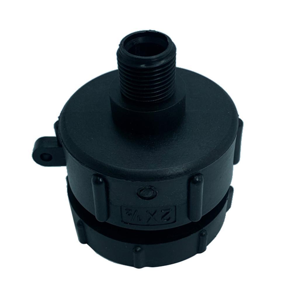 Adaptateur-de-conteneur-citerne-IBC-filetage-fin-62-mm-a-la-piece-de-raccords miniature 3
