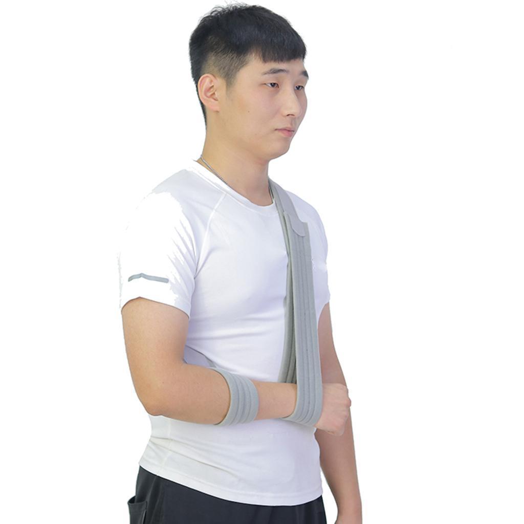 Verstellbare-Armschlinge-Armtragegurt-Armbandage-fuer-Maenner-und-Frauen Indexbild 9