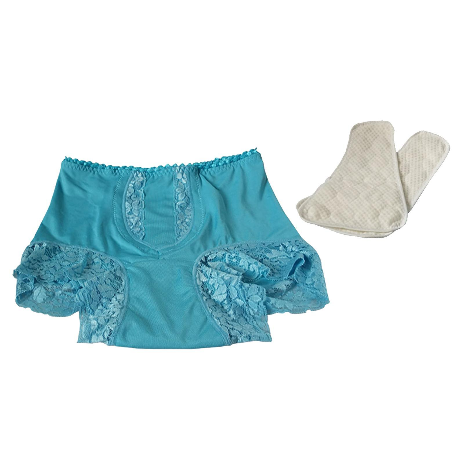 Indexbild 40 - Wiederverwendbare Inkontinenz Unterwäsche mit Pad für Frauen Menstruations