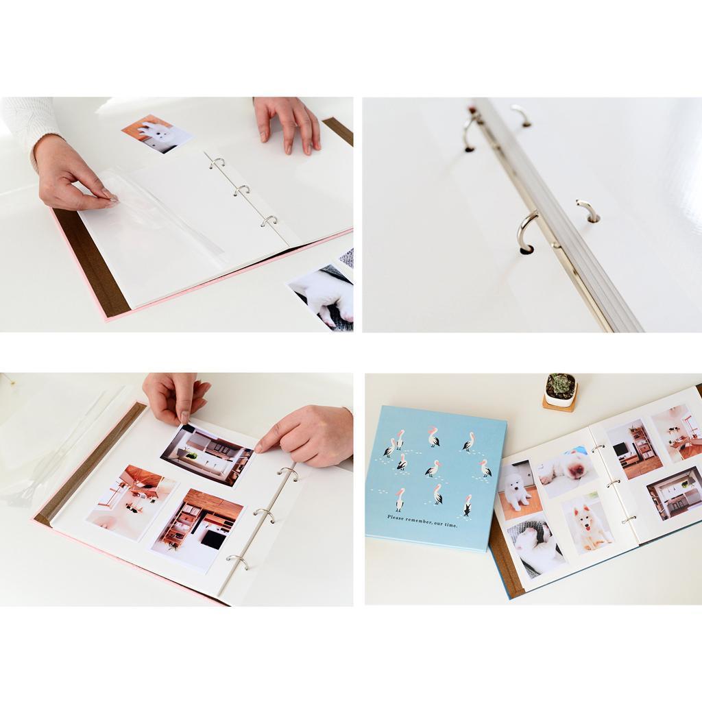 Indexbild 6 - Selbstklebendes Fotoalbum Fotoalbum Handgemachtes Erinnerungsbuch DIY