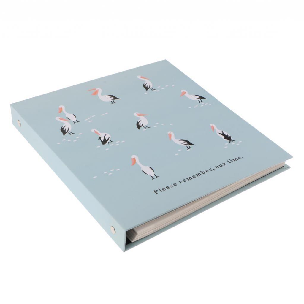 Indexbild 7 - Selbstklebendes Fotoalbum Fotoalbum Handgemachtes Erinnerungsbuch DIY