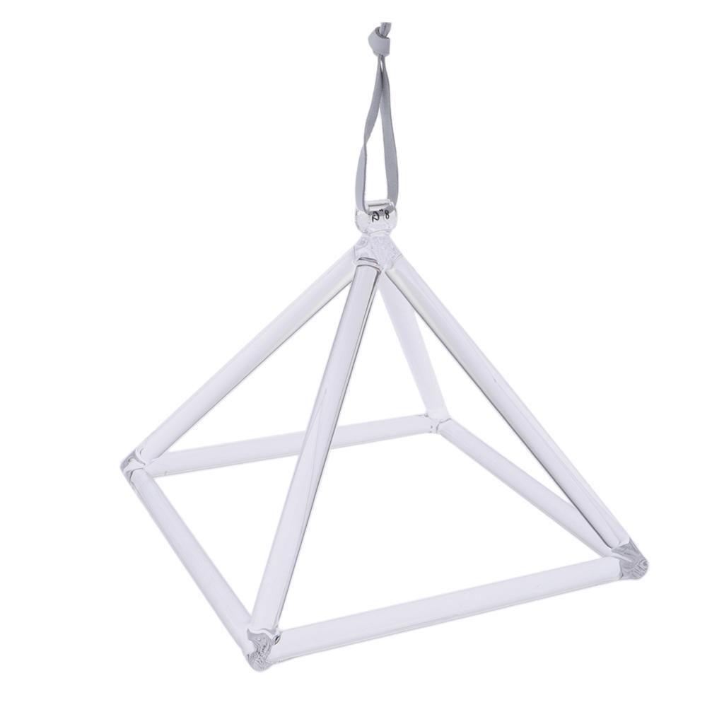 20,5 x 20,5 x 21,5cm Bols Chantant Pyramide Clair Instruments de Musique