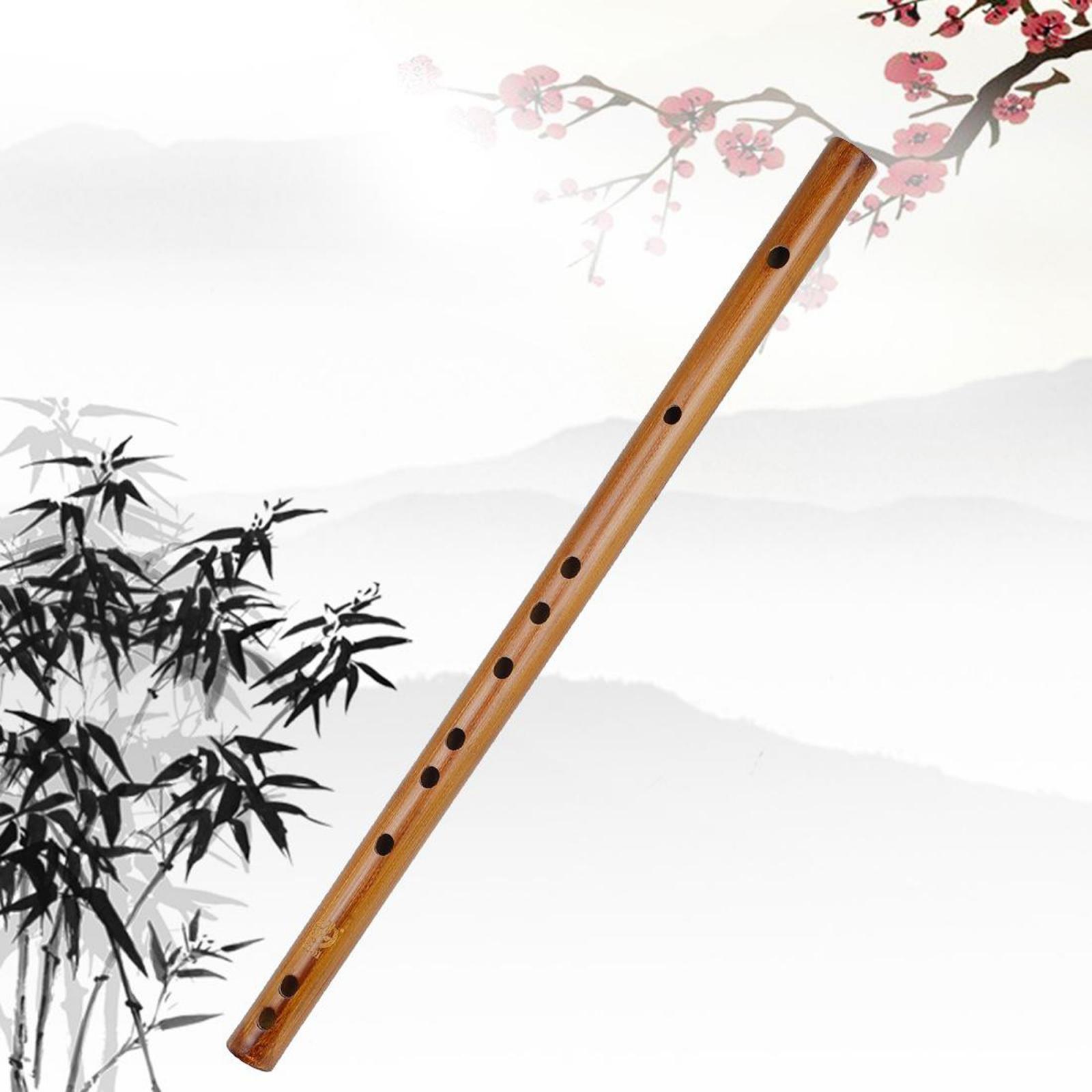 miniature 15 - Indien En Bois Flûte de Bambou Instrument de musique Enregistreur Enfants