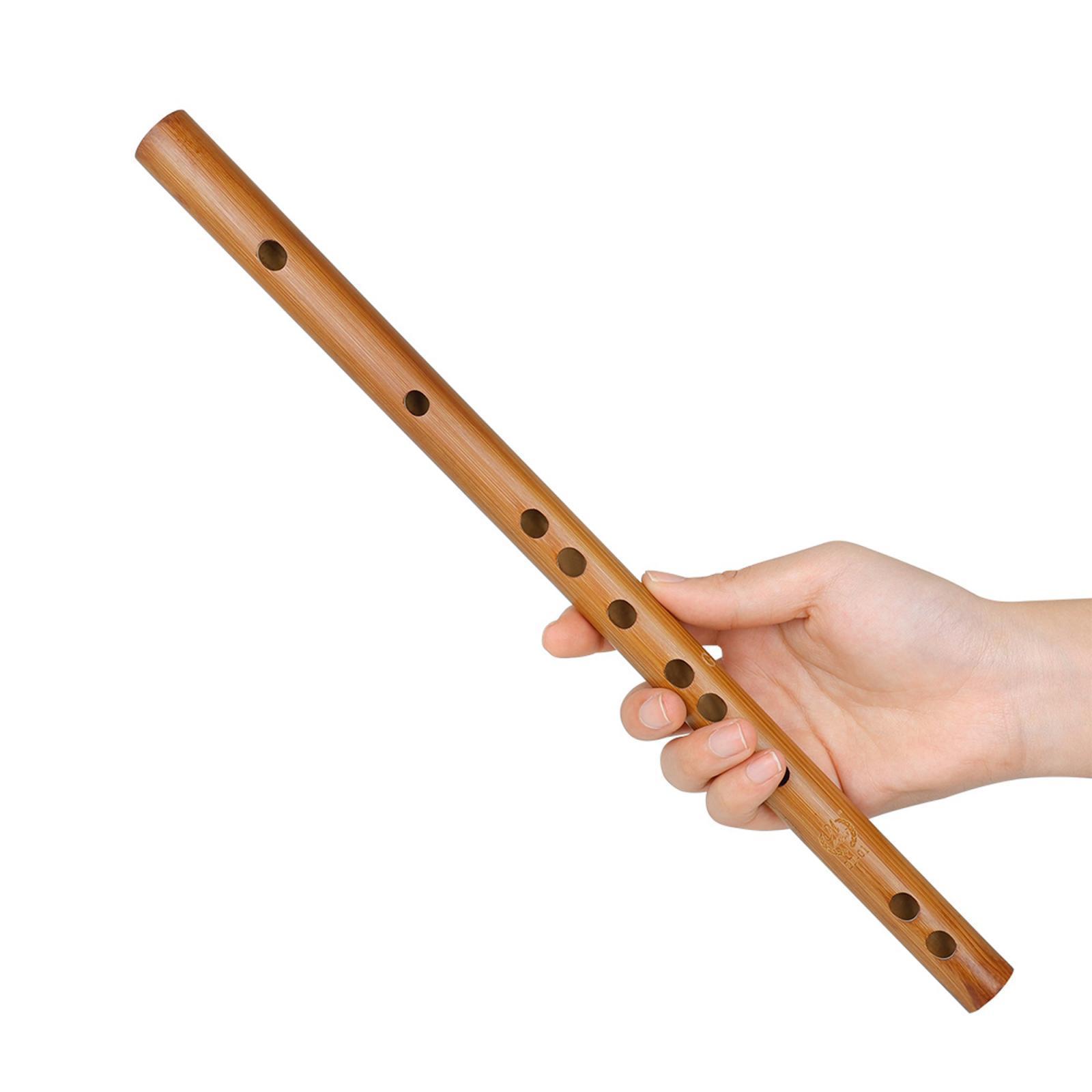 miniatura 56 - Unico-Indiano-di-Legno-Flauto-Strumento-Musicale-Registratore-Bansuri-Regalo