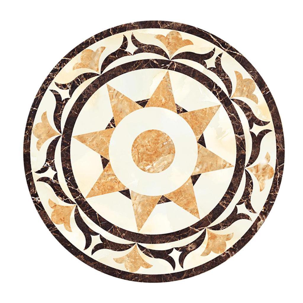 Self-adhesive Round Floor Tiles Sticker Bathroom & Kitchen ...
