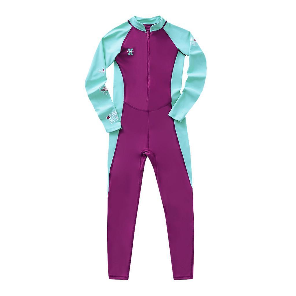thumbnail 6 - Kids Wetsuit Full Body Swimsuit 2.5mm Neoprene Wetsuit UV Protective Quick Dry