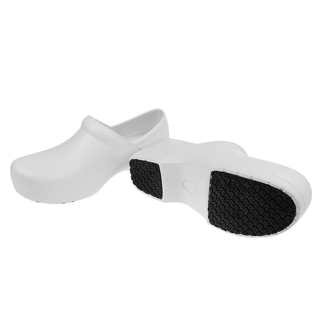 Chaussure Homme Sécurité Antidérapante Pour Cuisine Imperméable à Huile *