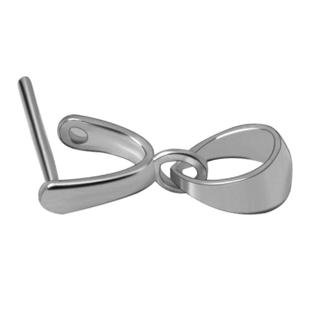Indexbild 3 - 925 Silber Prise Clip DIY Halskette Bail Verschluss Charm Bead Anhänger