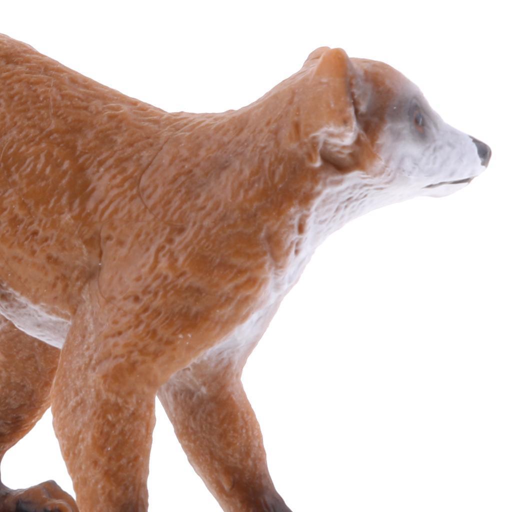 Realistico-Selvaggio-Farm-Natura-Animale-Albero-Modello-Azione-Figure-Kid miniatura 6