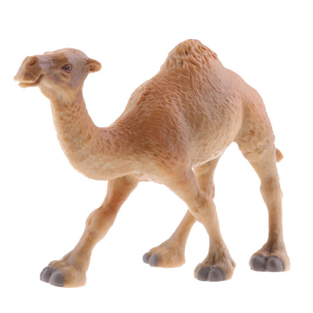 Realistico-Selvaggio-Farm-Natura-Animale-Albero-Modello-Azione-Figure-Kid miniatura 43