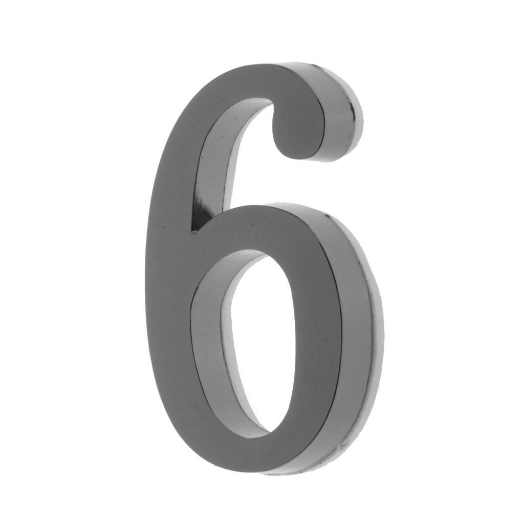 Metal-House-Door-Plaque-Hotel-Gate-Office-Dormitory-Number-Sign-Sticker miniature 18