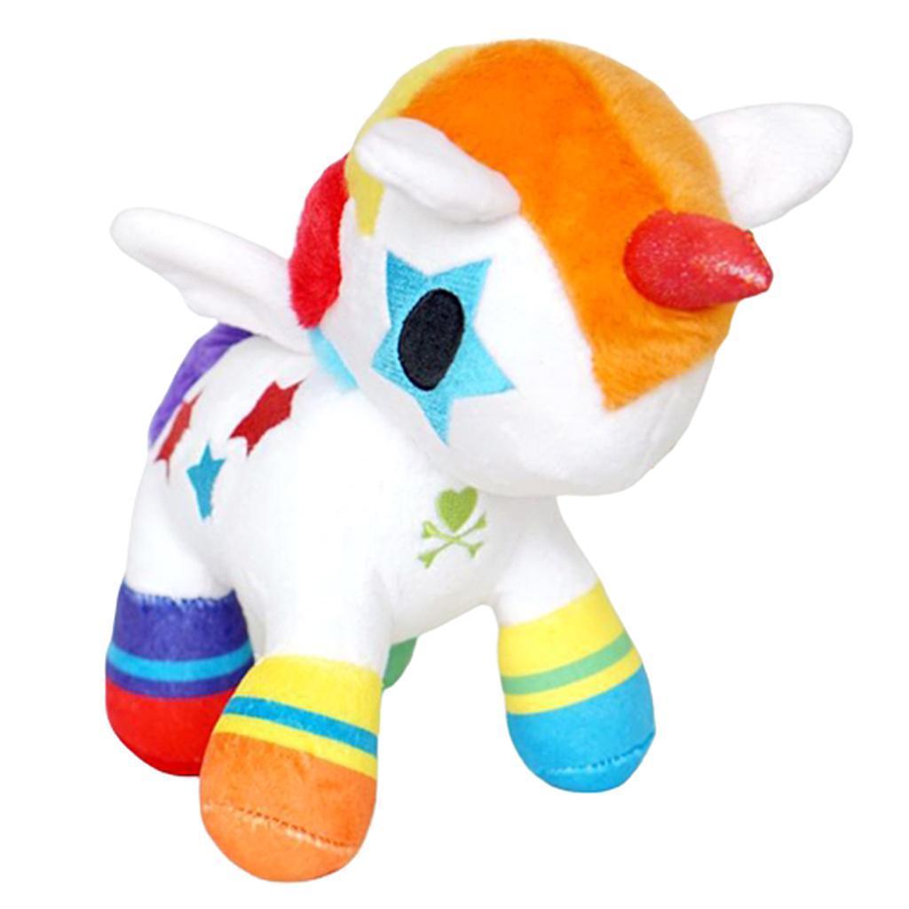 Adorable-licorne-en-peluche-apaiser-jouets-de-decor-de-sommeil-pour-les-filles miniature 5