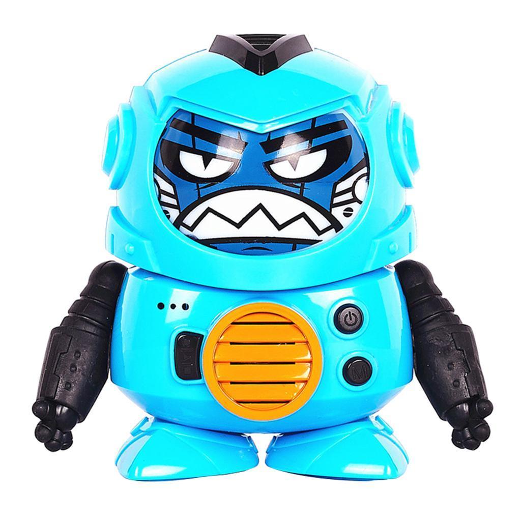 Mini-enregistrement-voix-changeur-robot-interactif-jouet-enfants-developpement miniature 6