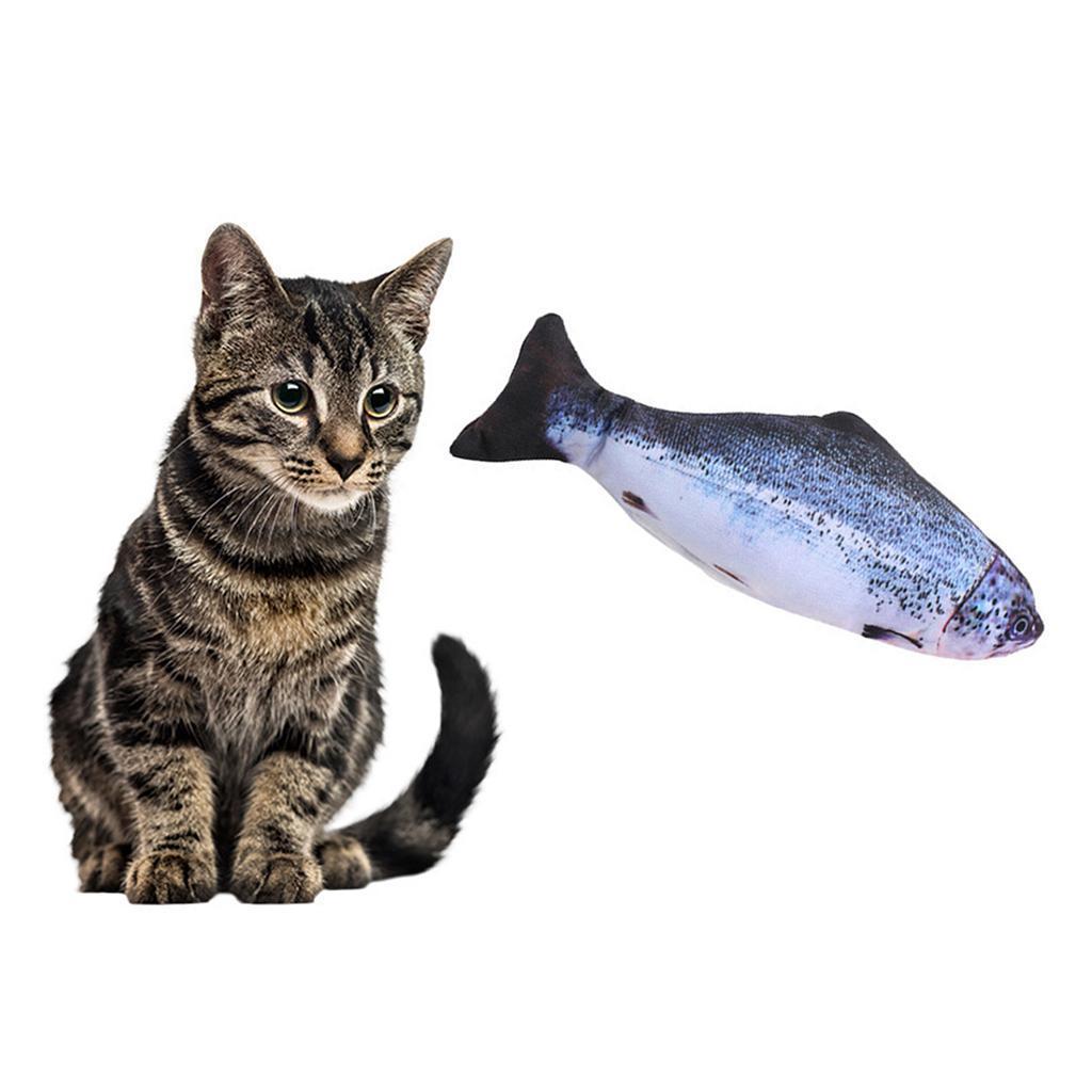 Indexbild 9 - Elektronische Haustier Katze Spielzeug Elektrische Simulation Fisch Spielzeug