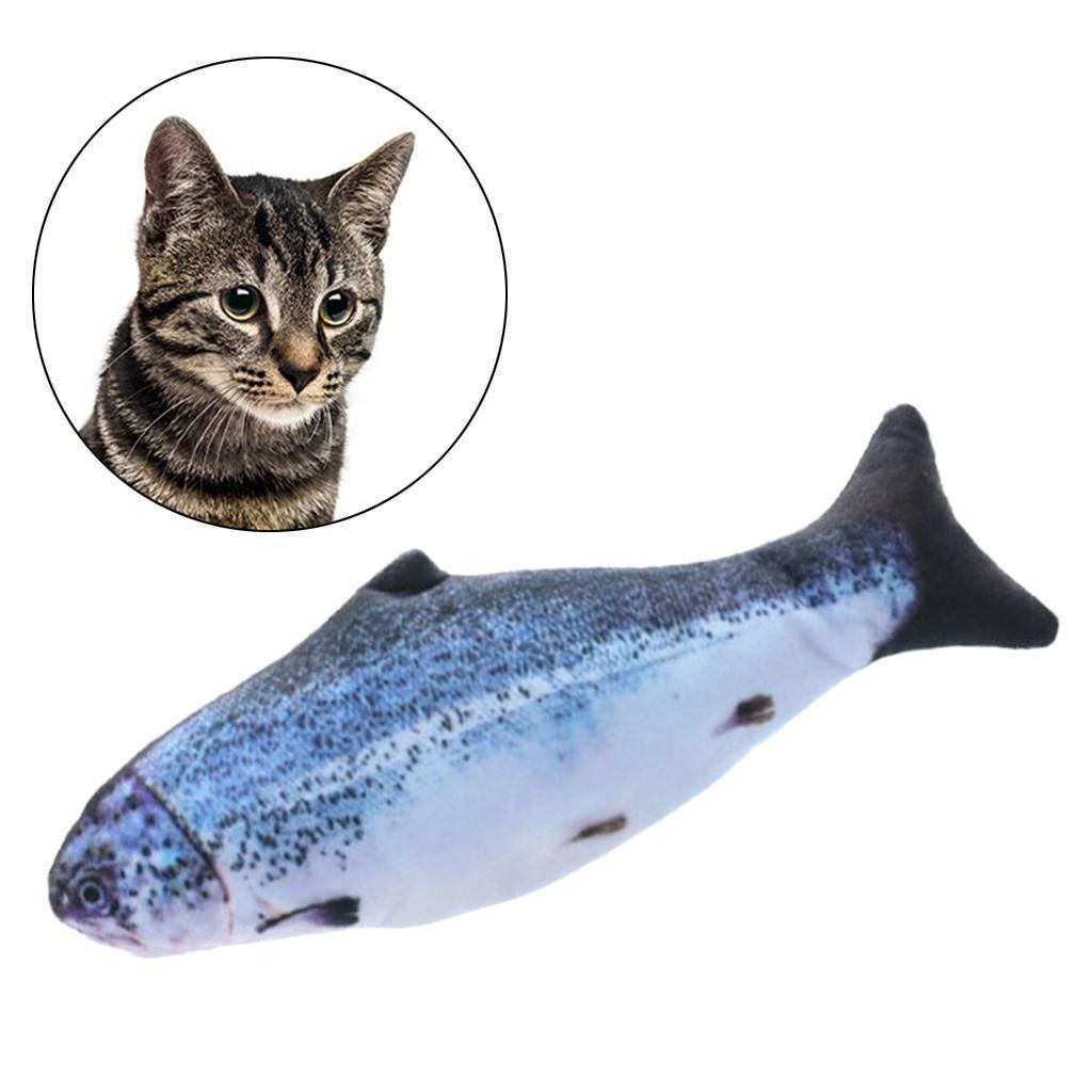 Indexbild 10 - Elektronische Haustier Katze Spielzeug Elektrische Simulation Fisch Spielzeug