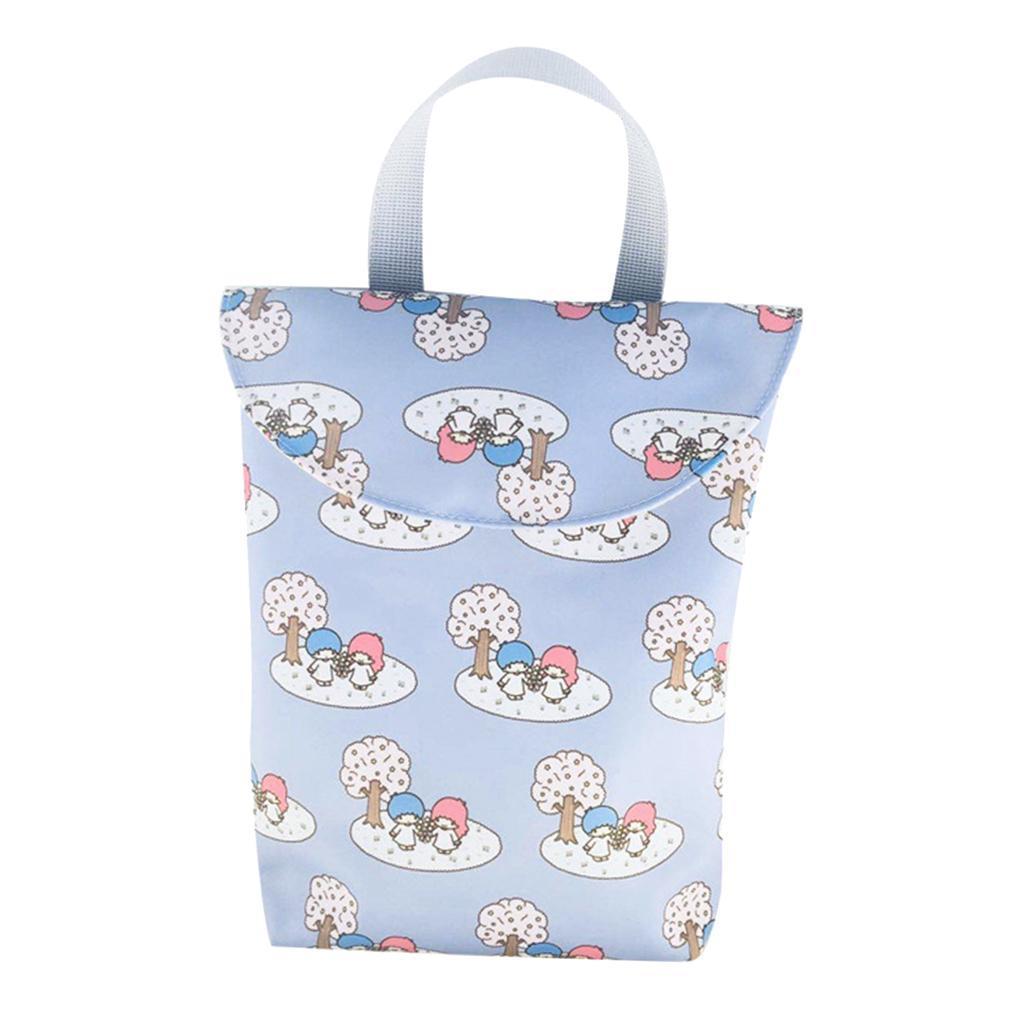 Baby-Diaper-Bag-Organizer-Fashion-Prints-Mummy-Storage-Bag-Outdoor-Reusable miniature 42